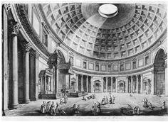 Piranesi - Pantheon - etching