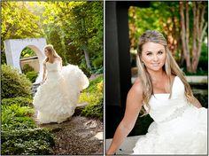 Paris Mountain Photography bridal gown  Wedding bridal portrait Atlanta Botanical Gardens