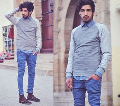 Back to simplicity (by Mohcine Aoki) http://lookbook.nu/look/4491067-Back-to-simplicity
