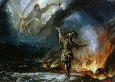 Ukko is the god of the sky, weather, harvest and thunder in Finnish mythology. Although portrayed active in myth, Ukko makes all his appearances in legend solely by natural phenomena when appealed to. Ancient Greek Religion, Power Of Evil, Pagan Festivals, Hobbies For Men, In Ancient Times, Natural Phenomena, Thunderstorms, Gods And Goddesses, Ancient History