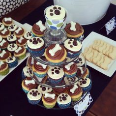 retro puppy dog party    thegatheredblog.wordpress.com  gatheredvintagerentals.com