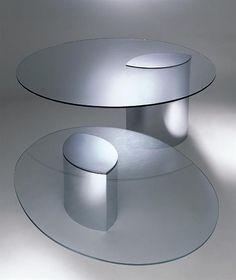 Superb Tolle glas couchtisch oval