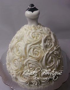 Wedding Dress - Cake by Cake Boutique Monterrey