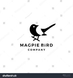 Find Magpie Bird Logo Vector Icon Illustration stock images in HD and millions of other royalty-free stock photos, illustrations and vectors in the Shutterstock collection. Marketing Logo, Bird Logos, Studio Logo, Shop Logo, Magpie, Art Logo, Animal Paintings, Vector Icons, Logo Design