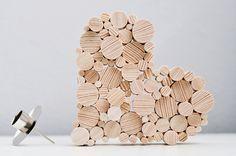 Valentinstagsgeschenke - Kerzenhalter in HERZform - ein Designerstück von Sinnenrausch bei DaWanda