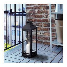 LAGRAD Lykta för blockljus, in/utomhus  - IKEA