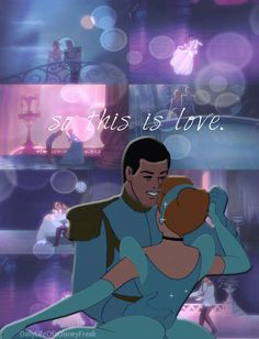 Disney Challenge Day Favorite Romantic Moment- When Cinderella and Prince Charming dance and fall in love :) Walt Disney, Disney Nerd, Disney Couples, Disney Girls, Disney Magic, Disney Pixar, Funny Disney, Disney Songs, Disney Quotes