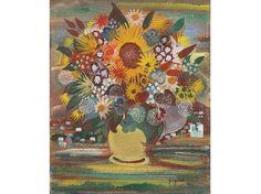 Tela 'Vaso de Flores', de Alberto da Veiga Guignard