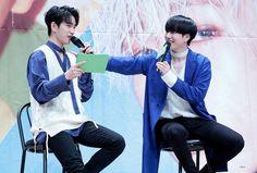 GOT7 Jingyeom moment. Jinyoung and Yugyeom