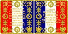Bandiera del 2 rgt. granatieri a piedi della guardia imperiale