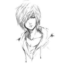 Emo Boy Emo Boys – Emo Boy Sketch Emo Boy Emo Boys – Emo Boy Sketch,Anime Emo Boy Emo Boys – Emo Boy Sketch Related Vorher-Nachher-Fotos zum Abnehmen - FitnessTraditional Laundry Room and. Manga Anime, Face Anime, Manga Boy, Anime Art, Hot Anime, Boy Drawing, Manga Drawing, Drawing Ideas, Drawing Skills