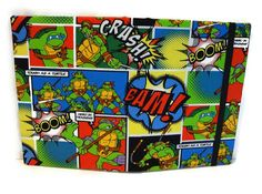 TMNT Durable Teenage Mutant Ninja Turtle tablet cover case Ipad mini Kindle fire Great gift idea for a boy! by RolyPolyWorkshop