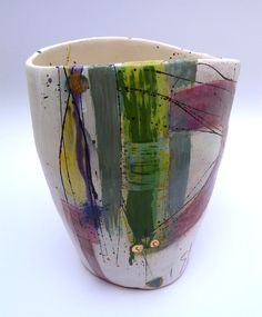 Large vessel, slipped terracotta © Linda Styles Ceramics 2014