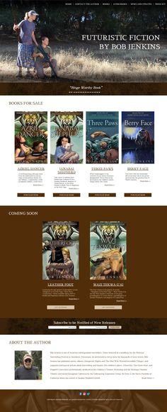 Custom Author Web Design Custom Design, Web Design, Real Estate, Author, Website, Blog, Design Web, Real Estates, Writers