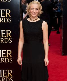 The lovely Amanda Abbington at the 2015 Olivier Awards