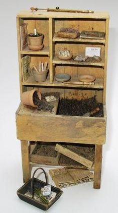TECHNIQUE - Distressing Wood - Creating Aged Doll House Miniatures Part 2   Features   Collectors Club of Great Britain