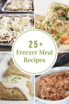 Preparing Freezer Meal Recipes ahead of time can help alleviate some stress and save a TON of money by not buying fast food.