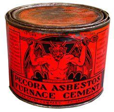 pecora asbestos furnace cement #devil