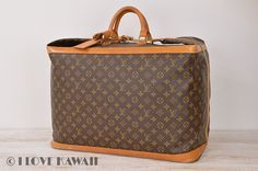 Louis Vuitton Monogram Cruiser Bag 55 Travel Bag Suitcase M41137