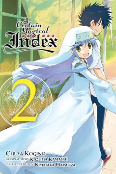 A Certain Magical Index, Vol. 2 - manga (A Certain Magical Index (manga)) A Certain Scientific Railgun, A Certain Magical Index, Viz Media, Dark Horse, Fiction Books, Book Format, Anime Art, Novels, Princess Zelda