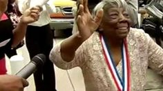 Dancing Grandmother, 107, Receives Presidential Medal Of Honor 12 March 2016 Virginia McLaurin became a web sensation when a video of her dancing with President Barack Obama and his wife Michelle went viral. Now, at 107, she has received the Presidential Medal of Honor for her years of volunteer service.