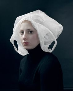 Hendrik Kerstens is a Dutch photographer, his favorite subject is his dauchter Paula. He likes to portray her like seventeenth century Dutch painters did. But with a twist.  You can see more of his work in this gallery.