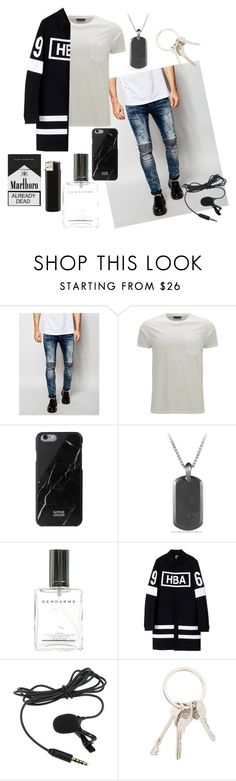 """""""Untitled #36"""" by teletabis10 ❤ liked on Polyvore featuring Religion Clothing, Belstaff, Native Union, David Yurman, Hood by Air, Givenchy, men's fashion and menswear"""