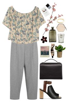 """Untitled #292"" by pinkandgoldsparkles ❤ liked on Polyvore featuring Acne Studios, OTTE, Loeffler Randall, The Row, Aesop, Ballard Designs, Imago-A, Eddie Borgo, Butter London and modern"