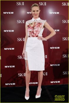 Kate Bosworth: SK-II Event at Myer Sydney City! I love the skirt.