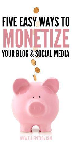 5 easy ways to monet