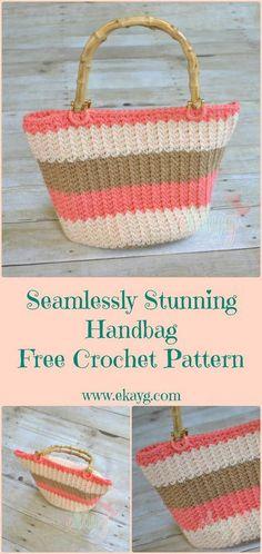 Seamlessly Stunning Handbag - Free Crochet Pattern at ekayg