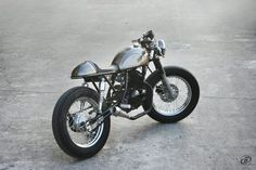 Suzuki GN 125 Cafe Racer by DuongDoan's Design #motorcycles #caferacer #motos…