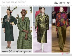 olive green colour trend