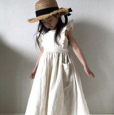 Toddler Kids Girl Dress Ruffles Princess Linen Dress Fashion Summer Cl – shopbabyitems Dresses Kids Girl, Girls Party Dress, Kids Outfits, Cheap Dresses, Casual Dresses, Fashion Dresses, Apron Dress, Ruffle Dress, Oeko Tex 100
