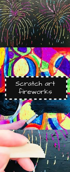 art fireworks craft Make your own DIY scratch art to create colourful firework pictures. An exciting bonfire night craft for kids.Make your own DIY scratch art to create colourful firework pictures. An exciting bonfire night craft for kids. Sparklers Fireworks, Fireworks Cake, Fireworks Design, Happy Birthday Fireworks, Happy New Year Fireworks, Firework Nail Art, Firework Painting, Fall Crafts For Kids, Crafts For Girls