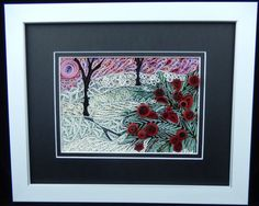 Winter-Christmas - by: Janet Watling-Little Circles Quill-Along Group - FB