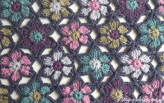 Merino flowers - by Atty's
