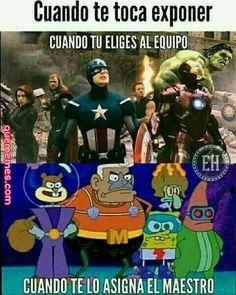XDD siempre me pasa (Pinche vida) :vv Anime Meme, Otaku Anime, Memes Marvel, Avengers Memes, Funny Images, Funny Pictures, Spanish Memes, Best Memes, Troll