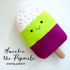 New Pattern: Sweetie the Popsicle