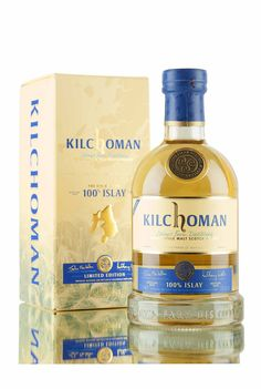 Kilchoman 100% Islay 6th Edition - Matured for over 6 years in refill bourbon barrels and bottled at 50% vol.
