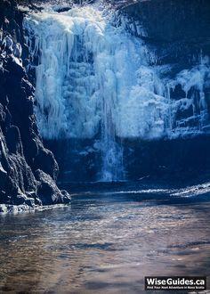 Stream from Baxters Harbour Waterfall, Nova Scotia #novascotia #visitnovascotia