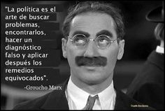 Groucho Marx on politics