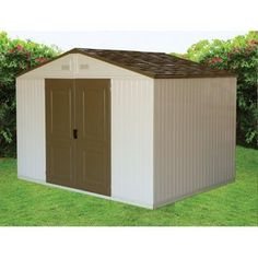 Duramax Building Products 10.5 x 8' WestChester Double Wall Vinyl Shed