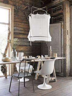 EN MI ESPACIO VITAL: Muebles Recuperados y Decoración Vintage: Los comedores más naturales {Natural style dining rooms}