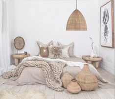 17 Scandinavian Bedroom Designs That Will Thrill You is part of Scandinavian design bedroom - Today we present some beautiful pictures of Scandinavianstyle bedrooms Scandinavian style in the interior is primarily mix of simplicity, functionality Scandinavian Bedroom Decor, Neutral Bedroom Decor, Scandinavian Design, Simple Bedroom Decor, Scandinavian Christmas, Home Bedroom, Summer Bedroom, Bedrooms, Modern Bedroom