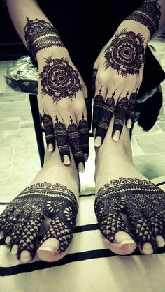 49 Beautiful Henna Tattoo Designs For Girls To Try At least Once - Torturein Egypt Henna Tattoos, Henna Mehndi, Mehendi, Foot Henna, Mehndi Tattoo, Henna Tattoo Designs, Mehndi Art, Henna Art, Arabic Henna