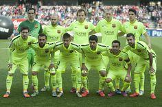 Once titular del FC Barcelona ante el Granada