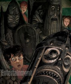 A scene from the new illustrated edition of Harry Potter and thre Sorcerer's Stone. #harrypotterillustrated