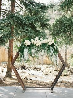 Pretty Colorado Mountain Wedding with Lace and Peonies ⋆ Ruffled Pretty Colorado Mountain Wedding with Lace and Peonies ⋆ Ruffled Calling all outdoorsy couples! This Colorado mountain wedding brought color and charm to the woodsy landscape of the Roc… Wedding Ceremony Ideas, Woodsy Wedding, Ceremony Arch, Forest Wedding, Outdoor Ceremony, Wedding Trends, Diy Wedding, Wedding Ceremonies, Budget Wedding