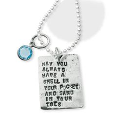 Love quote and the Neklace